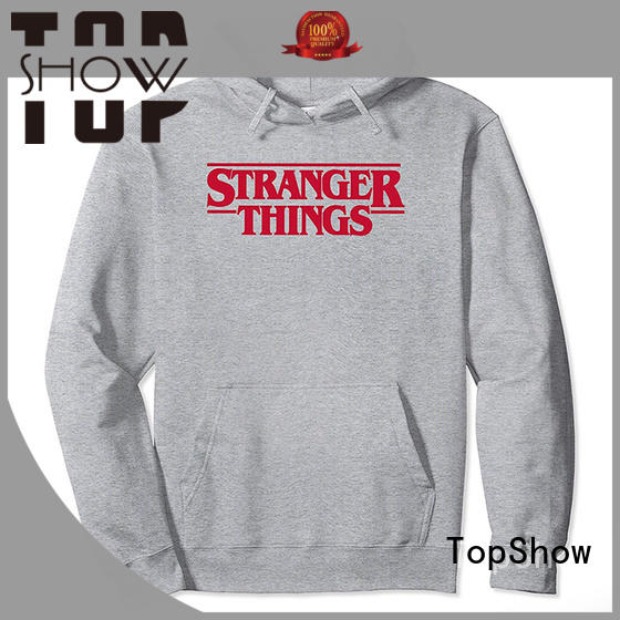 TopShow stylish hoodies for guys for business factory price