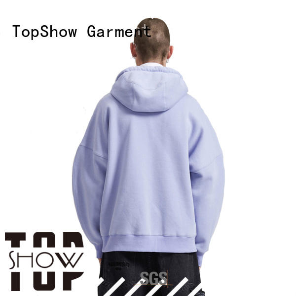 TopShow Best casual hoodies mens factory for girls