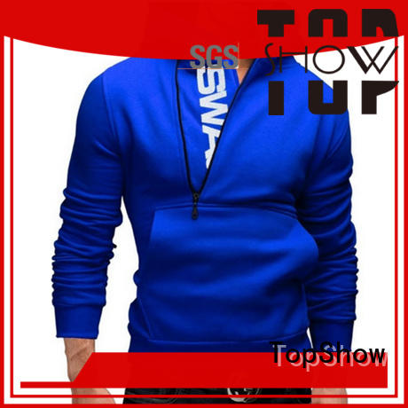 TopShow male hoodies for business daily wear