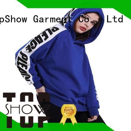 TopShow cool female hoodies street wear