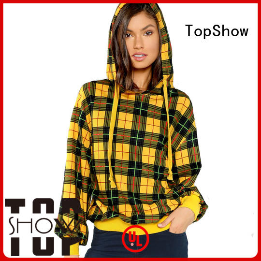 TopShow colorful ladies sweatshirts supply for party