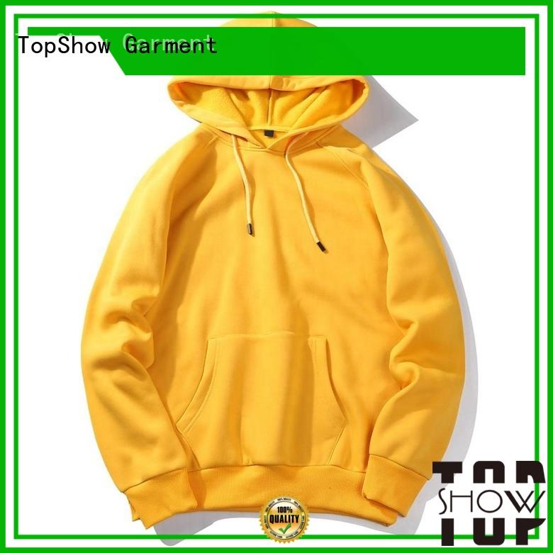 TopShow custom clothing manufacturer with many colors