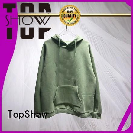TopShow custom clothing company with good price