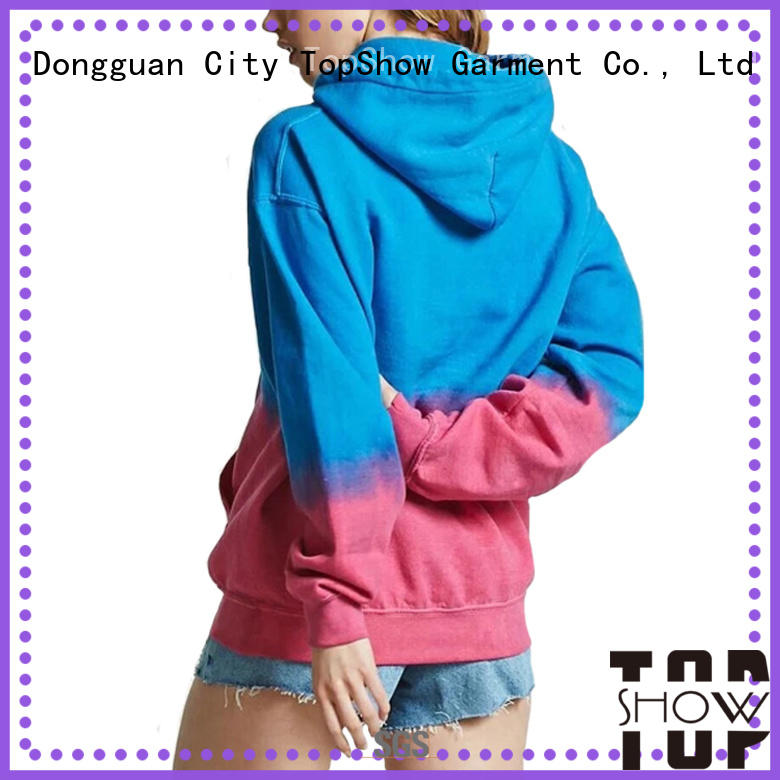 TopShow ladies long hoodies for shopping