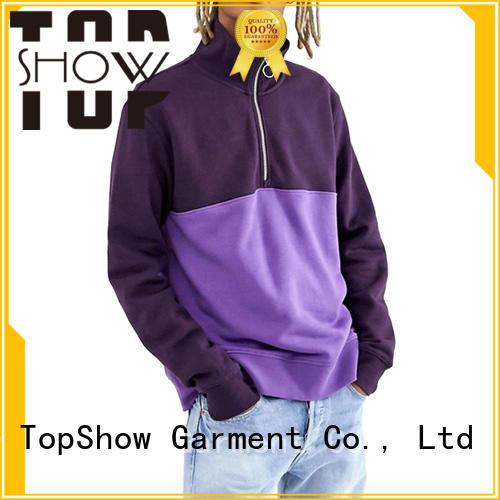 TopShow winter hoodie factory for ladies