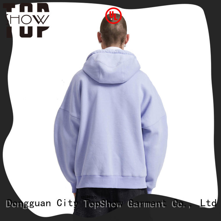 TopShow popular mens hoodies producer daily wear