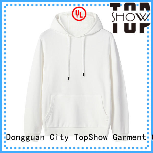 TopShow fashion winter hoodie factory for travel