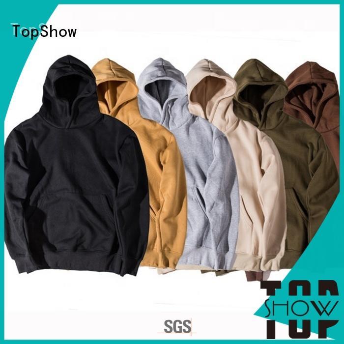 TopShow trendy mens hoodies Suppliers street wear