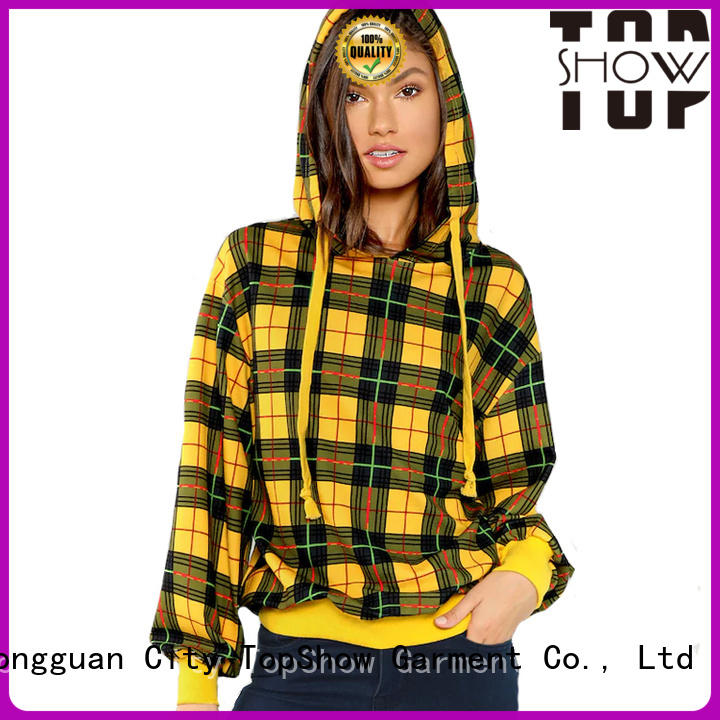 TopShow popular womens hoodies manufacturers for party