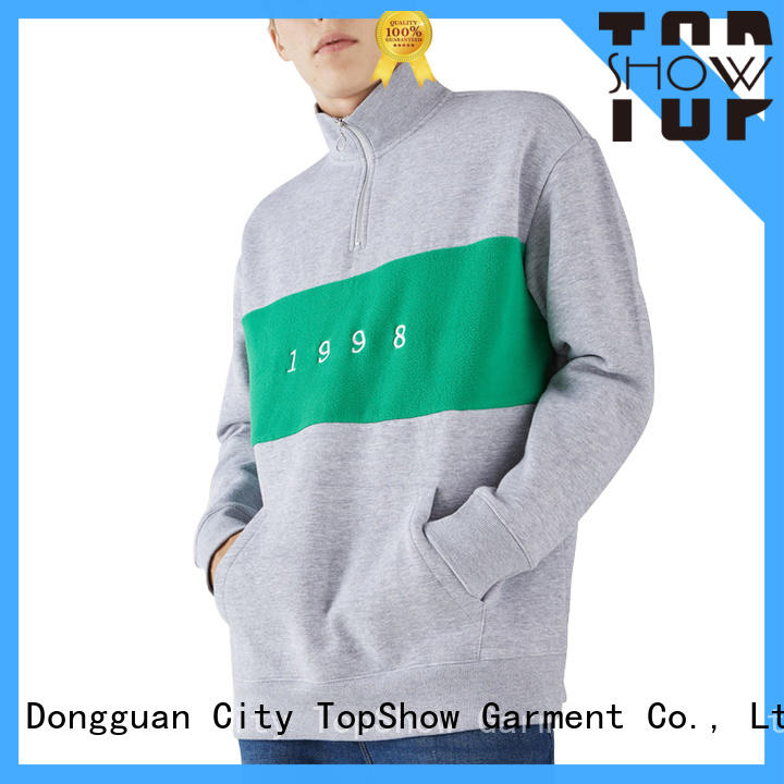 TopShow High-quality cool hoodies for guys factory for business trip