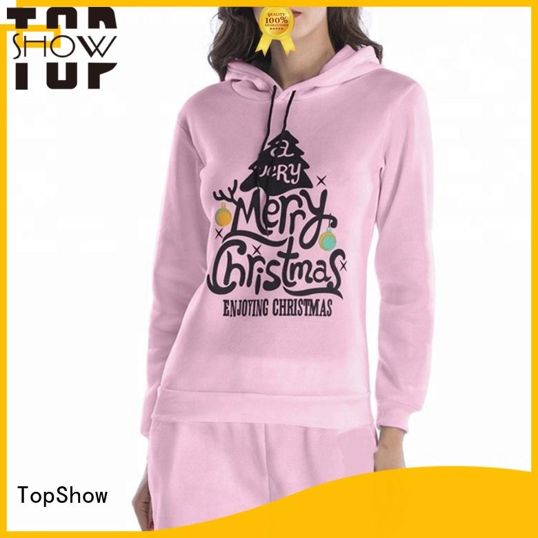 TopShow stylish hoodies womens manufacturer for travel
