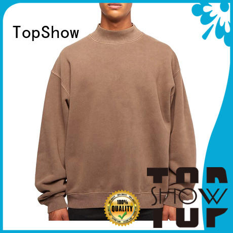 TopShow mens fashion hoodies manufacturers street wear