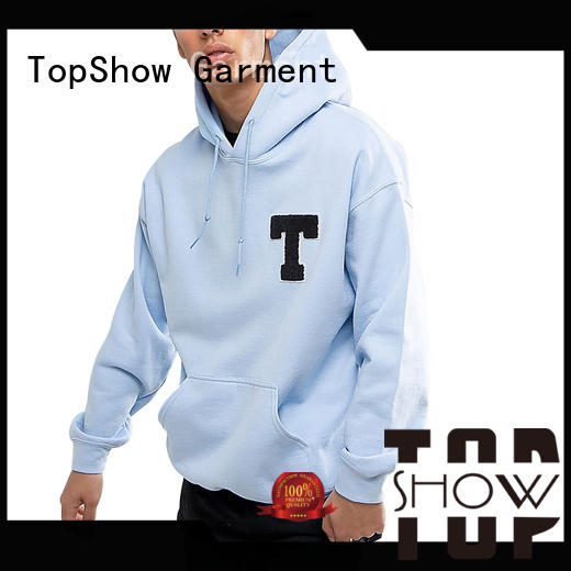 TopShow new mens hoodies producer from China