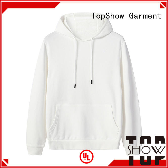 TopShow custom clothing manufacturer from China