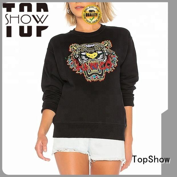 TopShow female pullover hoodies manufacturer for shopping