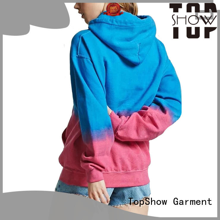 TopShow ladies hoodies factory with many colors