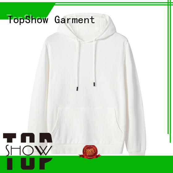 TopShow winter hoodie for business with many colors