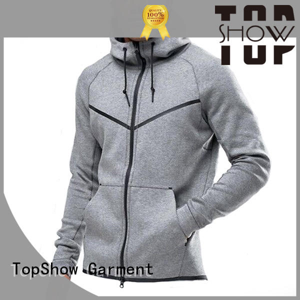 TopShow unique mens hoodies factory from China