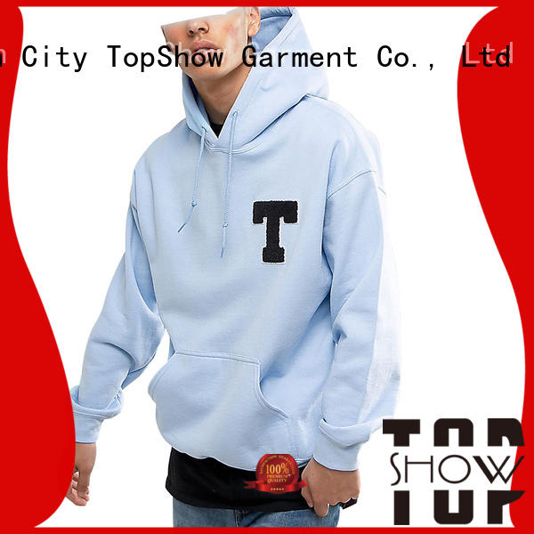 TopShow new male hoodies factory for party