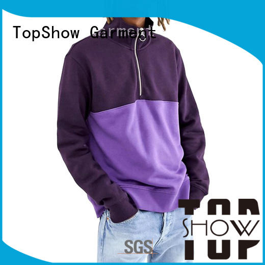 TopShow unique mens hoodies manufacturers for female