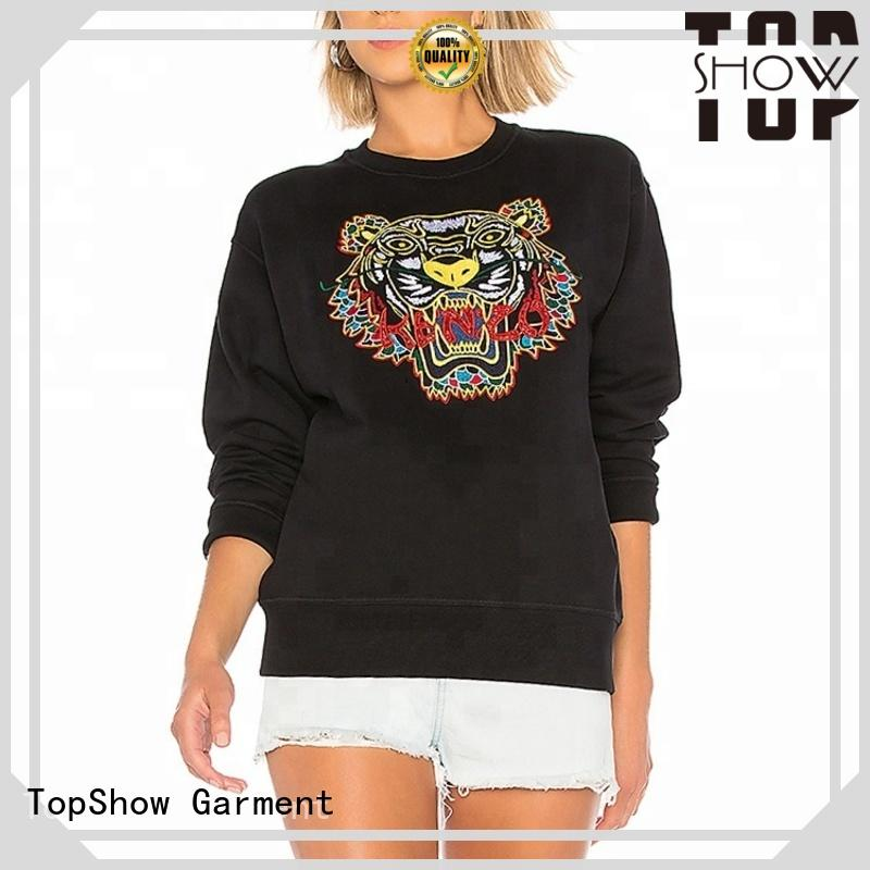 TopShow ladies long hoodies Supply for woman