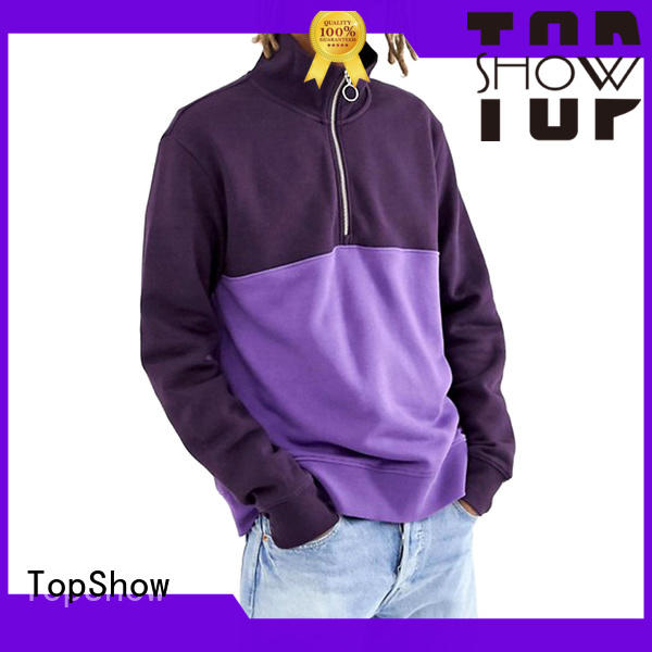 TopShow colorful nice hoodies for guys manufacturer daily wear
