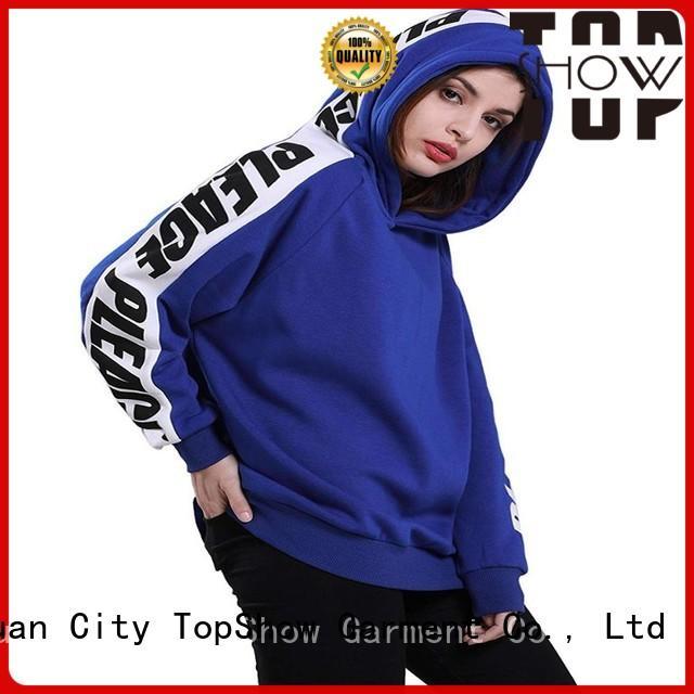 TopShow designer womens hoodies factory factory price
