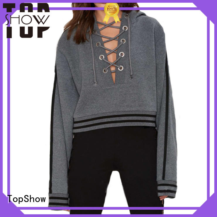 TopShow nice cute hoodies for women manufacturer for girls