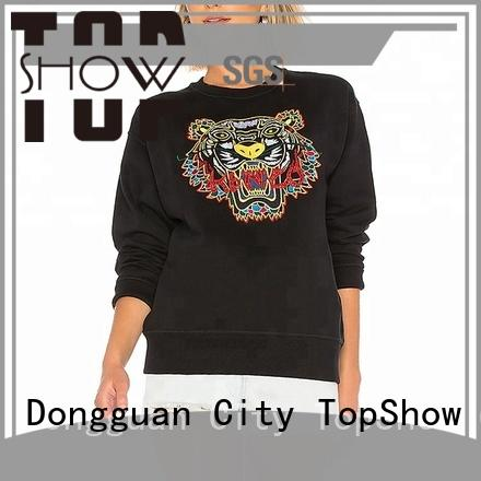 TopShow nice stylish hoodies womens supply for female