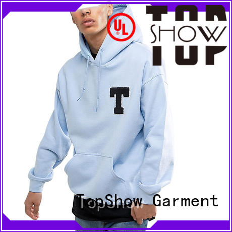 TopShow High-quality blank hoodies factory factory price