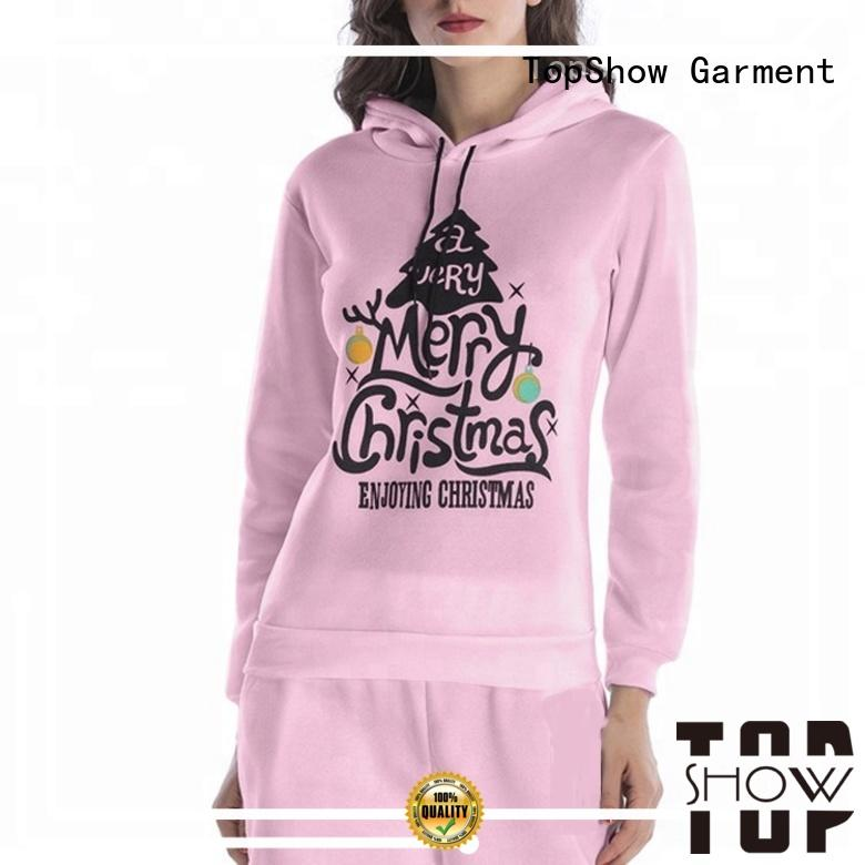TopShow female pullover hoodies Suppliers factory price