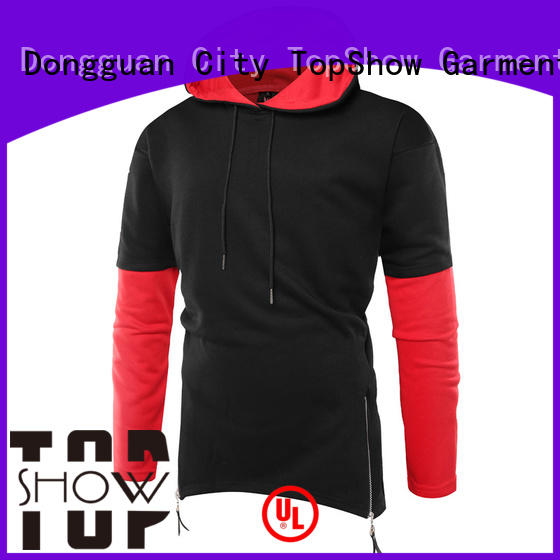 TopShow cool hoodies for men producer factory price