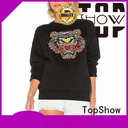 Best ladies long hoodies supply for cosmetics