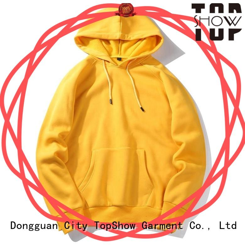 TopShow stylish hoodies for men supply for cosmetics
