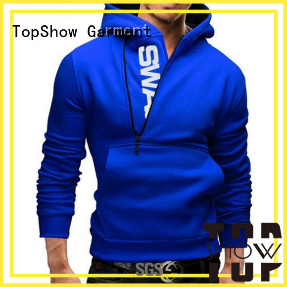 TopShow guys custom clothing producer factory price