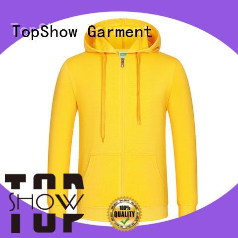 TopShow unique mens hoodies manufacturer for travel