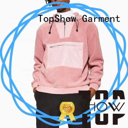 TopShow High-quality cool hoodies for men producer factory price