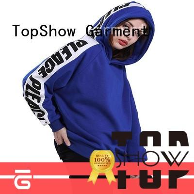 TopShow High-quality cool ladies hoodies manufacturers for cosmetics