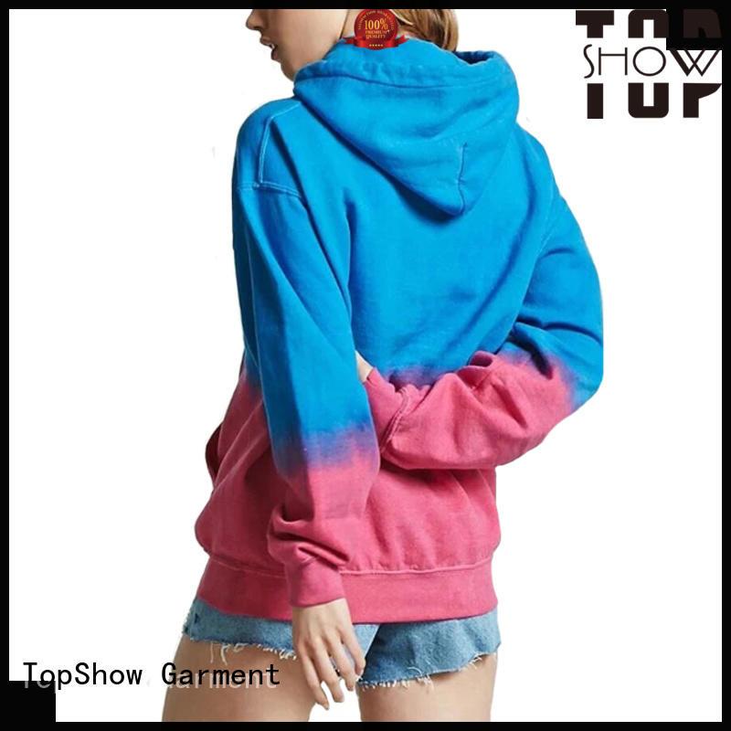 TopShow cool soft hoodies womens factory street wear