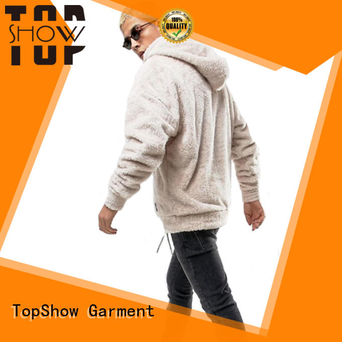 TopShow fashion cool hoodies for guys from China