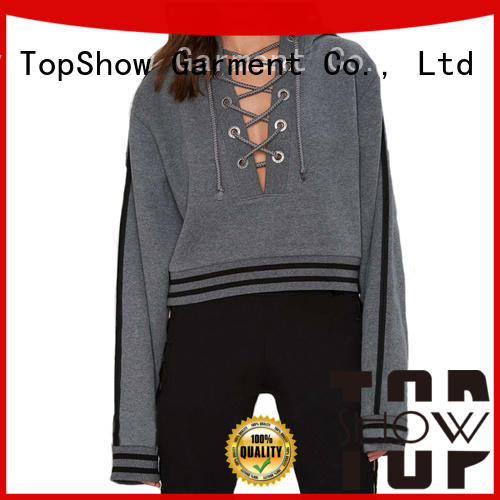 TopShow female pullover hoodies factory for woman