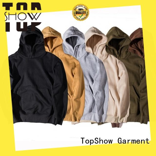 TopShow trendy hoodies for guys producer from China