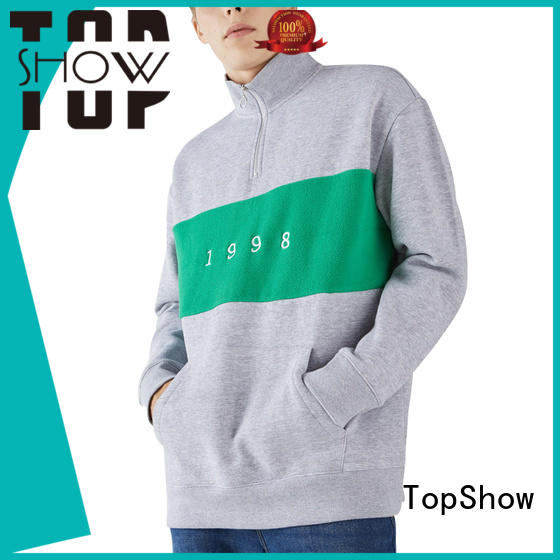TopShow stylish hoodies for men Suppliers for cosmetics