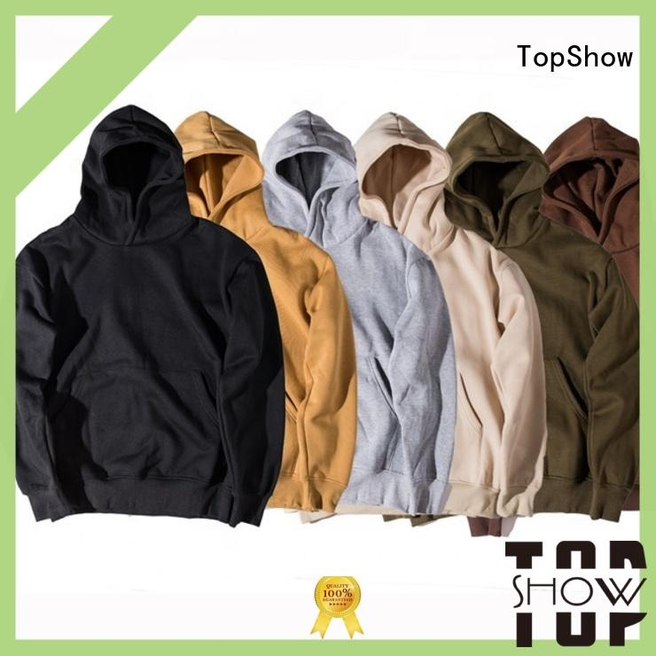 TopShow best hoodies for men manufacturers with good price