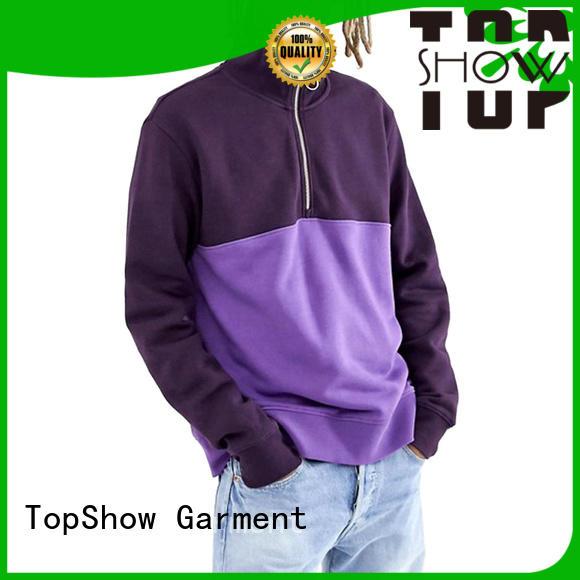new plain zip up hoodie factory price