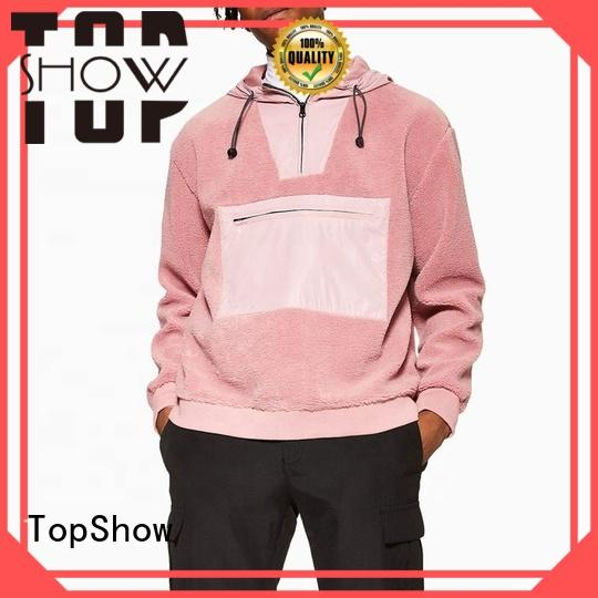 TopShow best hoodies for men manufacturer for travel