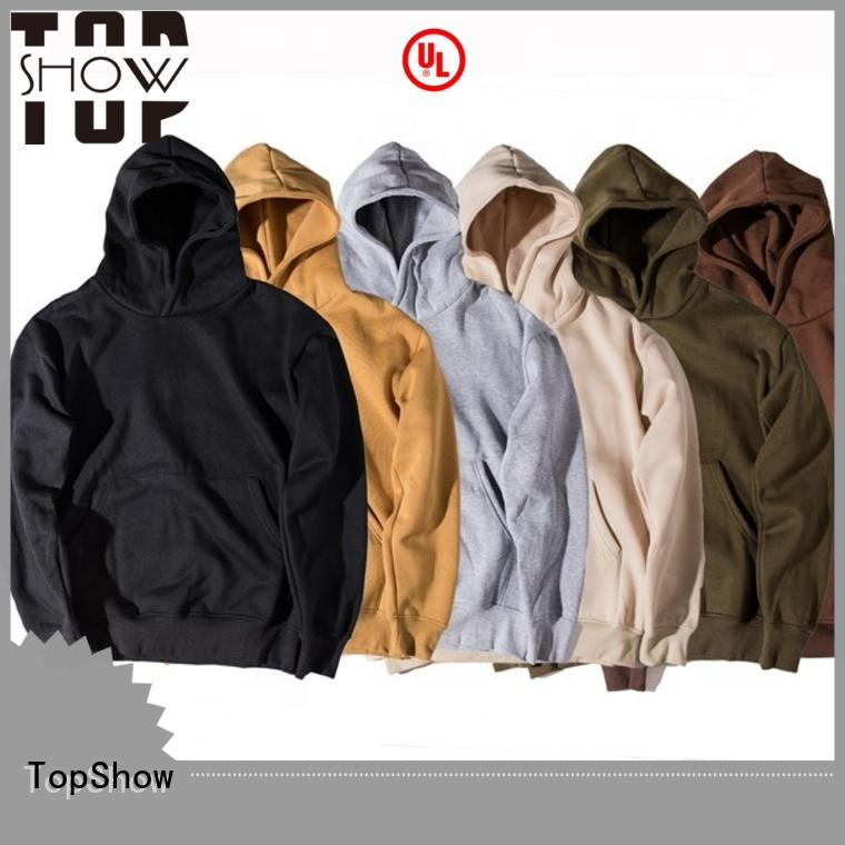 TopShow winter hoodie manufacturers for travel