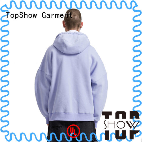 TopShow new best hoodies for men factory for business trip